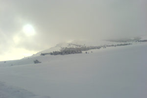 Джиппинг - подъем на Ай-Петри зимой