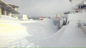 Снег на Ай-Петри