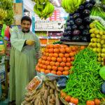 Цены на рынке в Дахабе