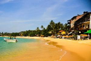 Шри-Ланка пляж Унаватуна