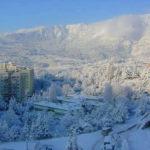 Ялту засыпало рекордным количеством снега