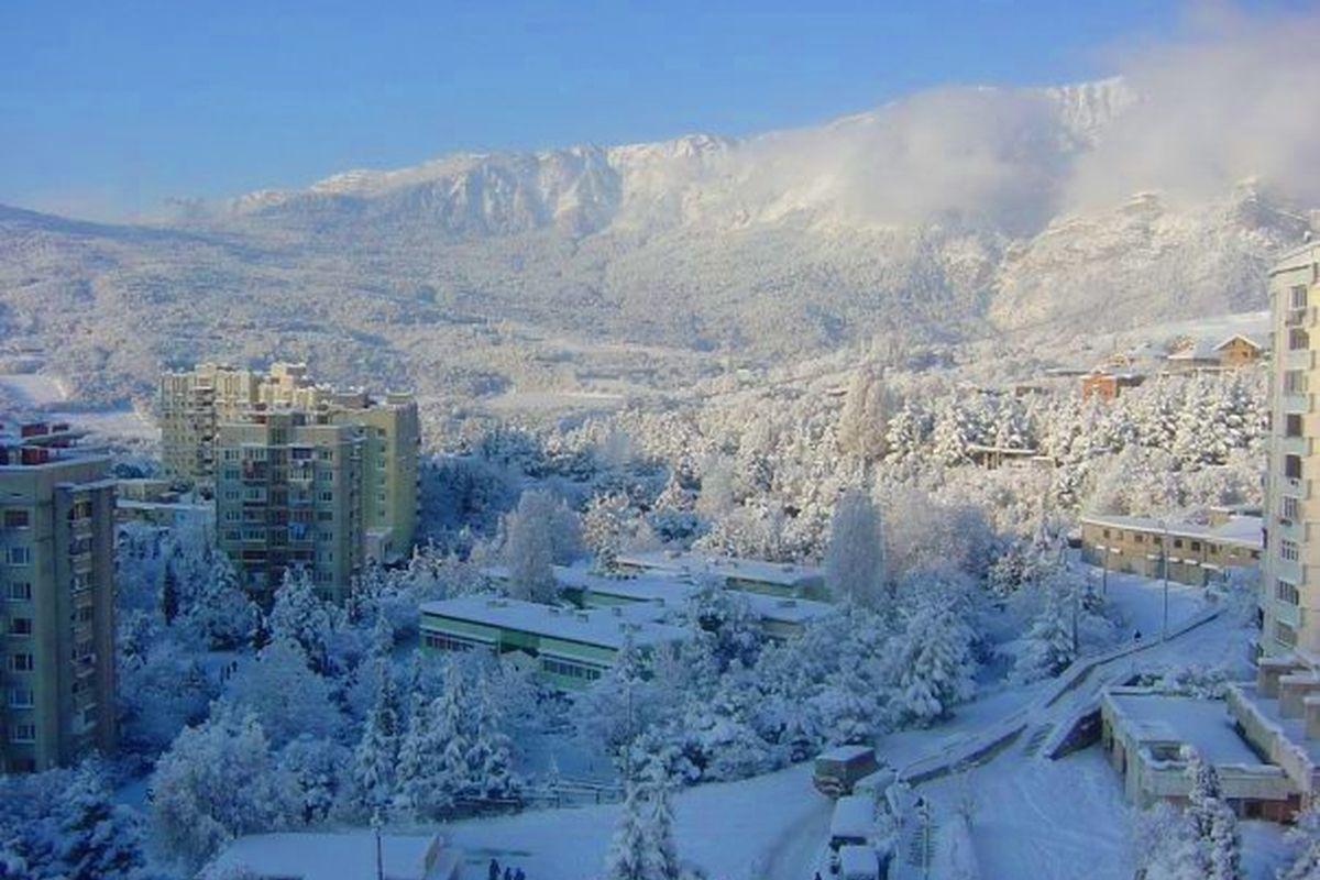 Фото зимней ялты